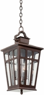 Kalco 403651OR Piedmont Old Rust Exterior Hanging Pendant Light