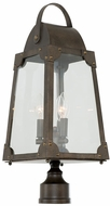 Kalco 403700AGB Arlington Vintage Aged Bronze Outdoor Post Light Fixture