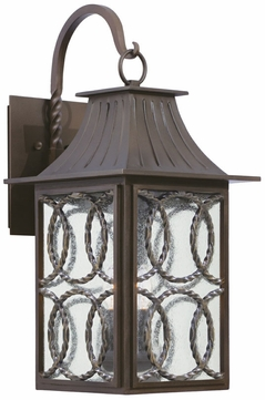 Kalco 404222AGB Monterey Traditional Aged Bronze Outdoor Large Wall Sconce Light