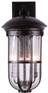 Kalco 404321BB Emerson Burnished Bronze Outdoor Medium Wall Lamp
