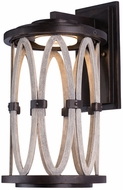 Kalco 404420FG Belmont Modern Florence Gold LED Outdoor Small Sconce Lighting