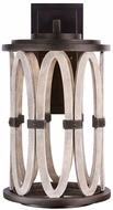 Kalco 404421FG Belmont Contemporary Florence Gold LED Exterior Medium Light Sconce