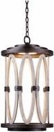 Kalco 404450FG Belmont Contemporary Florence Gold LED Exterior Hanging Light