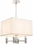 Kalco 500570CH DuPont Chrome Drop Ceiling Lighting
