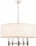 Kalco 500572CH DuPont Chrome 26  Ceiling Pendant Light