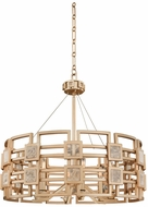 Kalco 500651MG Metropolis Modern Modern Gold Drop Ceiling Light Fixture