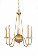 Kalco 500750HG LaSalle Honey Gold 26  Chandelier Light