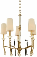 Kalco 500850HG Waverly Honey Gold Hanging Chandelier