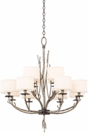 Kalco 501052BJT Denali Bronze Jewel Tone 12-Light Ceiling Chandelier