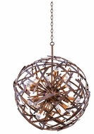 Kalco 501551CP Ambassador Modern Copper Patina 26  Pendant Lighting