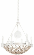 Kalco 501770GSL Loveland Traditional Gold Silver Leaf Pendant Lamp