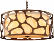 Kalco 501940CP Gramercy Contemporary Copper Patina Pendant Lighting Fixture
