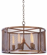 Kalco 502150CP Chelsea Copper Patina 25  Pendant Hanging Light