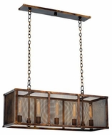 Kalco 502160CP Chelsea Copper Patina Kitchen Island Light Fixture