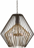 Kalco 502252BZG Metro I Contemporary Bronze Gold Lighting Pendant