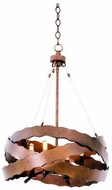 Kalco 502650BS Fulton Modern Brownstone Hanging Lamp