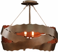 Kalco 502652BS Fulton Modern Brownstone Ceiling Lighting Fixture