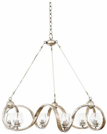 Kalco 502750PT Madison Modern Platinum Xenon Chandelier Light
