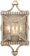 Kalco 503021PT Crystal Cove Platinum Wall Sconce Light