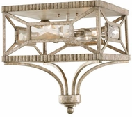 Kalco 503040PT Crystal Cove Platinum Ceiling Light Fixture