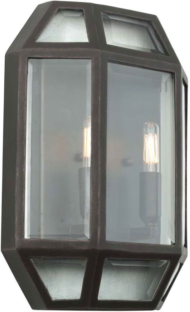 Kalco Wall Sconces : Kalco 503322HB Pompano Contemporary Heirloom Bronze Wall Sconce - KAL-503322HB