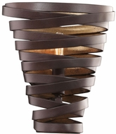 Kalco 503420BZG Tempest Modern Bronze Gold Wall Sconce Lighting