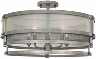 Kalco 503640BJT Delano Contemporary Bronze Jewel Tone Flush Mount Lighting