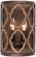 Kalco 504821BS Whittaker Contemporary Brownstone Wall Lamp
