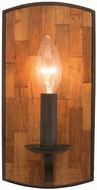 Kalco 505521BI Landsdale Black Iron Lighting Sconce