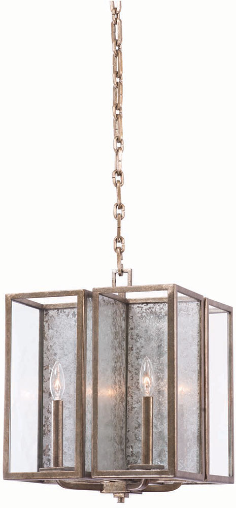 Rustic Foyer Chandelier : Kalco rsl camilla rustic silver leaf foyer lighting