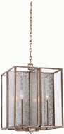 Kalco 506052RSL Camilla Rustic Silver Leaf Foyer Light Fixture