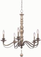 Kalco 506351DS Colony Dune Silver Lighting Chandelier
