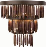 Kalco 506521BS Unie Contemporary Brownstone Lighting Wall Sconce