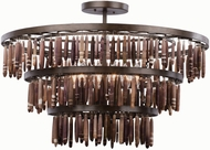 Kalco 506553BS Unie Modern Brownstone Overhead Lighting