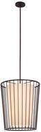 Kalco 507050BZ Pacifica Contemporary Bronze 20  Foyer Light Fixture