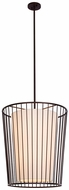 Kalco 507051BZ Pacifica Modern Bronze 24  Foyer Lighting Fixture