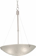 Kalco 5094 Cirrus Contemporary Satin Nickel 24  Wide Pendant Lamp