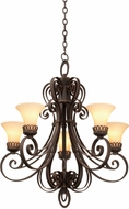 Kalco 5198 Mirabelle Traditional Hanging Chandelier