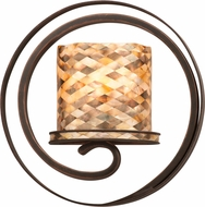 Kalco 6010 Monaco Contemporary Antique Copper Sconce Lighting