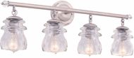 Kalco 6314PS Brierfield Pearl Silver 4-Light Bath Lighting