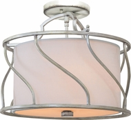 Kalco 6415 Helix Modern Flush Mount Lighting Fixture