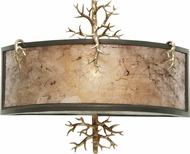 Kalco 6616 Oakham Rustic Bronze Gold Wall Sconce Lighting