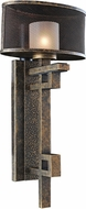 Kalco 6710 Stanley Contemporary Volcano Bronze Xenon Wall Mounted Lamp