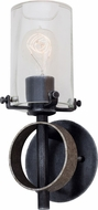 Kalco 7091 Irvine Modern Vintage Iron Wall Sconce Light