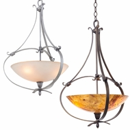 Kalco 7239 Mateo Modern 20  Wide Hanging Pendant Lighting