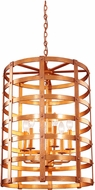 Kalco 7404NC Townsend New Copper 20.5  Lighting Pendant