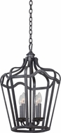 Kalco 7414 Livingston Traditional Charcoal Foyer Lighting