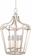 Kalco 7414PS Livingston Pearl Silver 14  Foyer Lighting