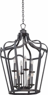Kalco 7415 Livingston Traditional Charcoal Foyer Light Fixture