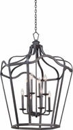 Kalco 7416 Livingston Traditional Charcoal Foyer Lighting Fixture